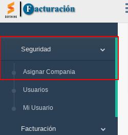 Relacionar    usuario a compañía sft-facturacion